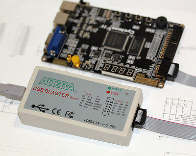 Original Rev.c Hardware- Altera Usb Blaster Download Cable Fpga Clpd Nios Jtag