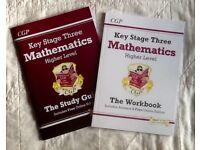 KS3 Mathematics Workbook & Study Guide Higher Level (CGP: 2014 curriculum)