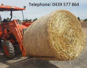 Oaten Hay - 4ft Round Rolls - Net Wrapped Wasleys Gawler Area Preview