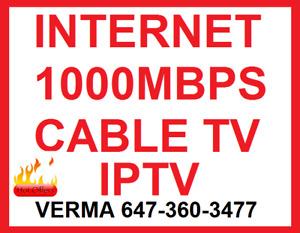 UNIMITED INTERNET , BUSINESS INTERNET CABLE TV , IPTV BUNDLE