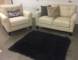 Nice couch and arm chair