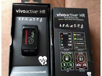 Garmin Vivoactive HR Smartwatch GPS Black Regular.