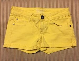 Yellow Shorts from Dynamite. Size 24