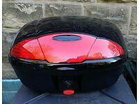 Motor bike top box