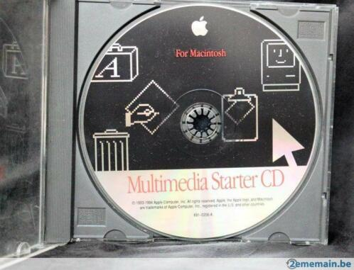 Apple Macintosh Multimedia Starter CD 1994