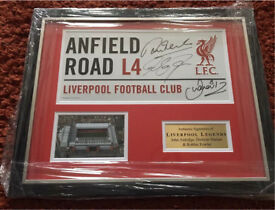 Signed sports memorabilia