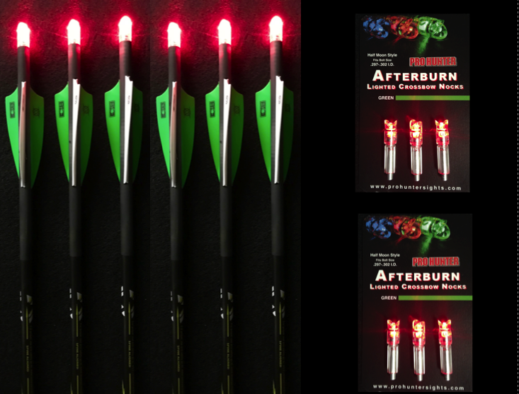 new 6 victory crossbow bolts 6 red