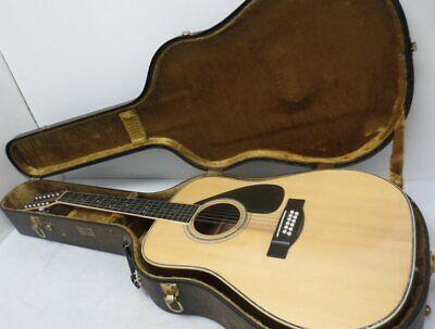 Yamaha FG12-350 12-String Acoustic Guitar w/ Yamaha Travel Case