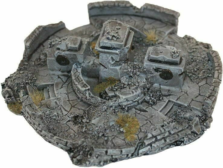 15mm Destroyed Fountain Stalingrad No 1194