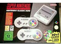 Nintendo Snes super nes mini console