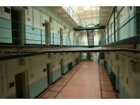 Ghost Hunting Shepton Mallet Prison 25th March 18 9pm to 3am £59 incl Refreshments Snacks & Rolls