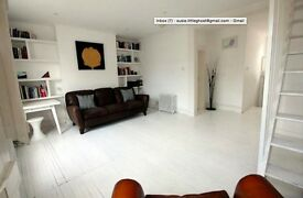 BrIght Airy split level TWO BEDROOM flat with terrace