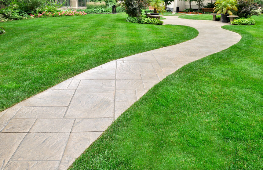 Garden paving ideas ebay for Paved garden designs ideas