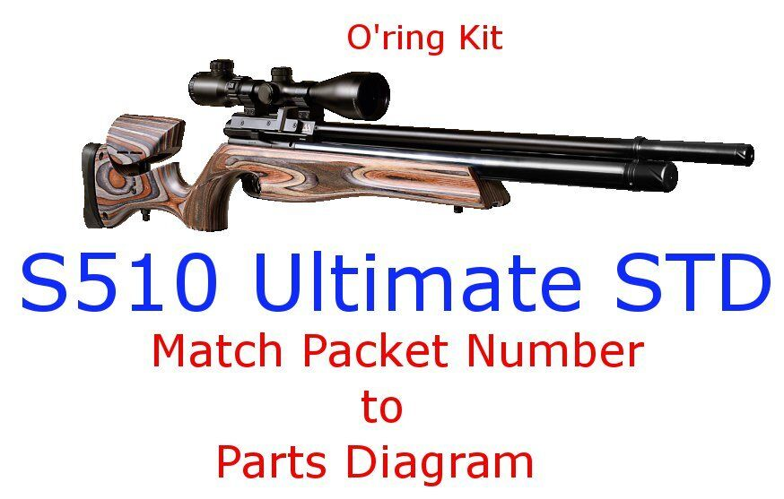 Air Arms O Ring Kit S510 Ultimate STD Wundr Shop