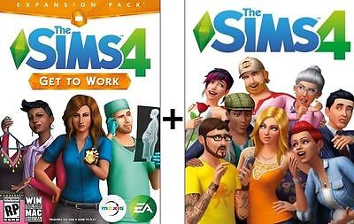 Sale   The Sims 4   Get To Work   Origin  Downloadable Account Pc Multilanguage
