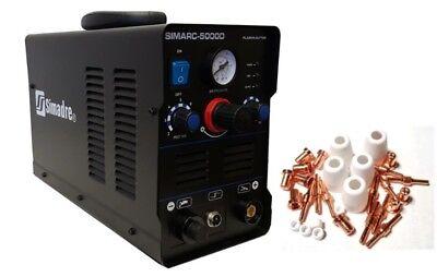 Plasma Cutter Simadre Ct5000d 110v220v 50amp Dc Inverter Extra 30 Cons