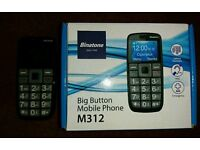 Binatone M312 Big Button Mobile Phone
