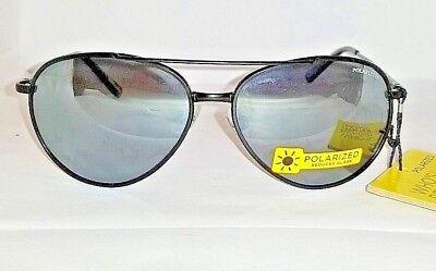 MOST POPULAR FOSTER GRANT POLARIZED BLACK PILOT METAL AVIATOR SUNGLASSES 100% (Most Popular Sunglasses For Men)