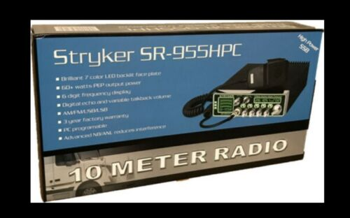 Stryker SR955HPC 10 Meter Amateur Radio Sealed - Never Opened - Complete NEW