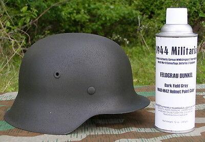 German Feldgrau Dunkel SPRAY PAINT For M40, M42 & FJ Helmets (Helmets NOT FS!)