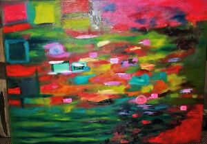 Peinture Tableau Painting Tableaux Abstract Abstraite by MILLA! West Island Greater Montréal image 4