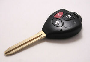 Remote-Uncut-Blank-Key-Fob-Keyless-Entry-Shell-Case-For-Toyota-RAV4-3-Buttons