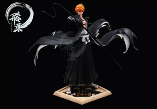 BLEACH Kurosaki Ichigo Resin Figure Statue GK Model Kits FlyLeaf Studio New