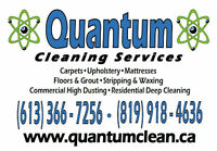 Quantum - Carpet Cleaning @ 3 ROOMS FOR ONLY $99!