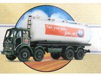 Corgi milk tanker mint boxed diecast