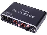 Roland Audio Interface UA-55 Quad-Capture In Good Condition