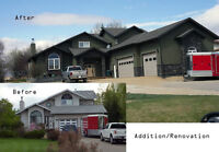 Renovations, Additions, New Builds,