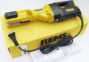 REMS Pressmaschine Power Press E Nr. 572100 für Pressbacke Sanitär Vorgänger SE