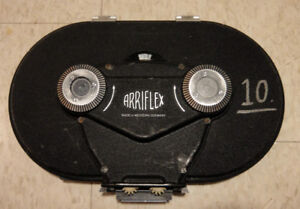 ARRIFLEX 400' 16MM FILM MAGAZINE & BARNEY