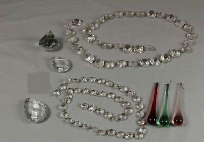 83 X Crystal Glass - Drop, Cone, Octagon Prisma For Chandelier/Chandelier/210