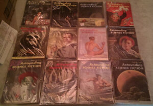 Astounding Science Fiction; Complete Year Set 1954 (12 issues)