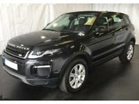 2017 BLACK RANGE ROVER EVOQUE 2.0 TD4 180 SE TECH 4WD CAR FINANCE FR £109 PW