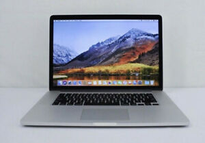 "Macbook Pro 2015 15"" Retina i7 2.5GHZ 16GB 500GB Adobe Photoshop"