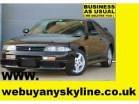 Nissan Skyline R33 GTST MANUAL Unmodified/Unmolested example One keeper 15 Years