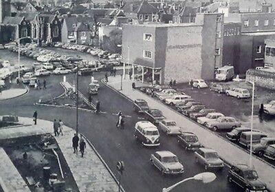 "MARLOWE THEATRE CAR PARK AREA 1969, CANTERBURY, KENT 7X5"" REPRODUCED PRINT"