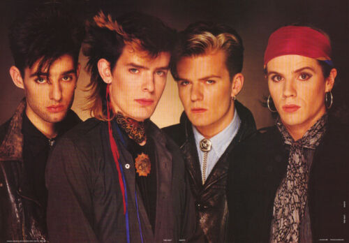 POSTER - MUSIC: THE CULT - GROUP POSE - 1985  - FREE SHIPPING   #AA210    LW11 E
