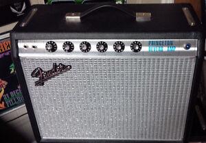Fender Princeton Reverb 68 custom reissue ( Mint)