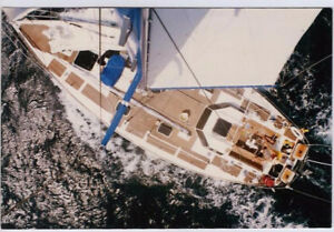 40ft steel hull sailboat for sale