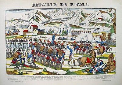 Napoleon Battaglia Rivoli Verona Lago di Garda Bajonett Gardasee Geschütz Alpen