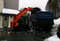 Bobcat Operator for Snow Removal