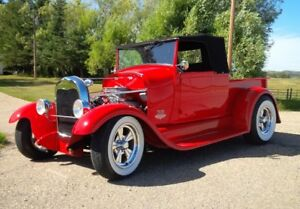 1928 Ford Model A pickup street rod roadster possible trade
