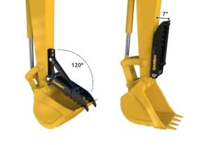 Thumb MT830 Gentec for 1-5  ton backhoe or excavator, mechanical