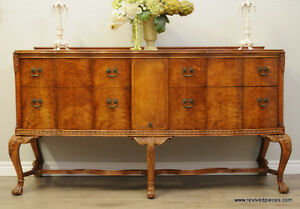 Antique Chippendale Sideboard Buffet