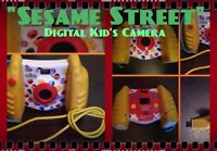 Sesame Street Digital Camera made for Toddler