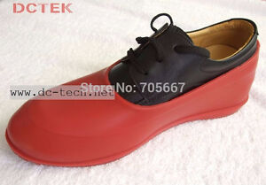 Red Rubber Shoe Covers! 50+ Pairs Available!! Cambridge Kitchener Area image 1