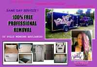100% FREE REMOVAL of WORKING Appliances. FAST & EASY!